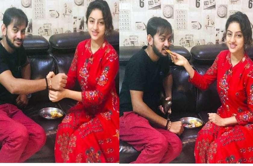 deepika singh celebrates rakhsha bandhan in advance photos