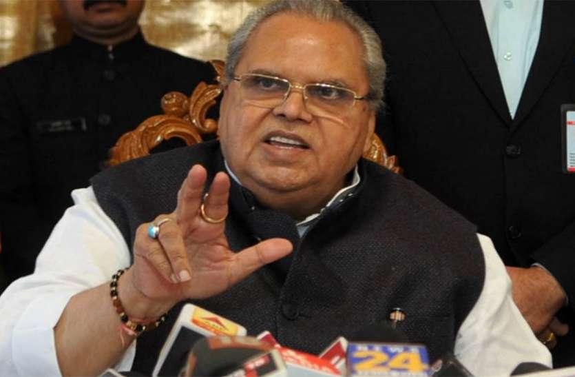 जम्मू-कश्मीर: राज्यपाल सत्यपाल मलिक का बयान, 15 अगस्त के बाद प्रतिबंधों में मिलेगी ढील