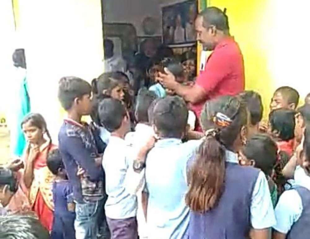 singrauli teacher: transferred from school his students got emotional