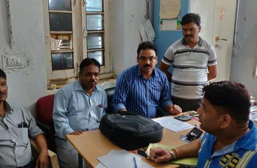 लेखापाल को 600 रुपए की रिश्वत लेते पकड़ा