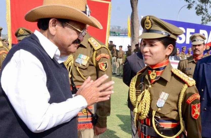 कश्मीर में तिरंगे को सलामी देगी राजस्थान की बेटी तनुश्री, देश की पहली महिला BSF अफसर हैं तनुश्री