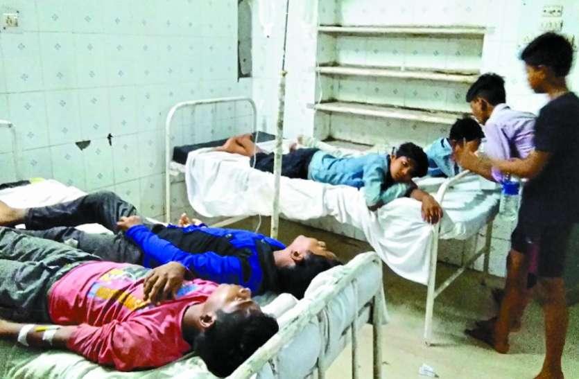 दूषित खाना खाने से लक्ष्य हॉस्टल के 11 छात्र पेट दर्द व उल्टी के हुए शिकार, अस्पताल में कराया भर्ती