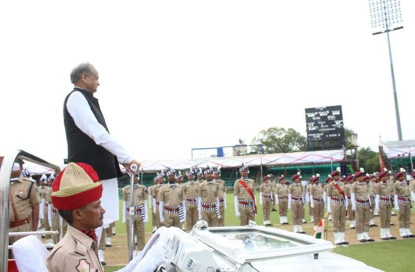 CM Gehlot Hoisted Flag, Greeted On Rakshabandhan And Independence Day