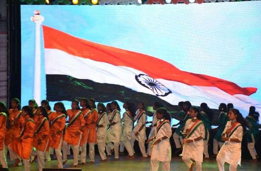 स्वतंत्रता दिवस के जश्न में रंगी संस्कारधानी