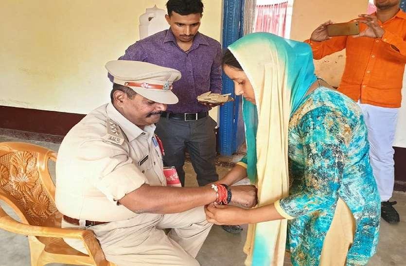 देश की सीमा पर शहीद हुए चंदन राय की बहन आज भाई की याद में रो रही थी, तब पुलिस के इस अधिकारी ने पहुंचकर अपनी कलाई आगे बढ़ा दिया