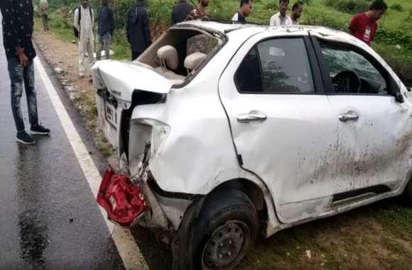 रक्षाबंधन पर दर्दनाक हादसा, 3 पलटी खाकर पलटी कार, हादसे में युवक की दर्दनाक मौत, एक घायल