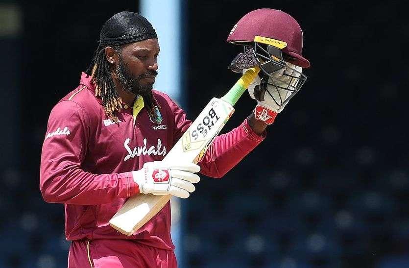 भारत आने से पहले वेस्टइंडीज को बड़ा झटका, गेल ने खेलने से किया मना