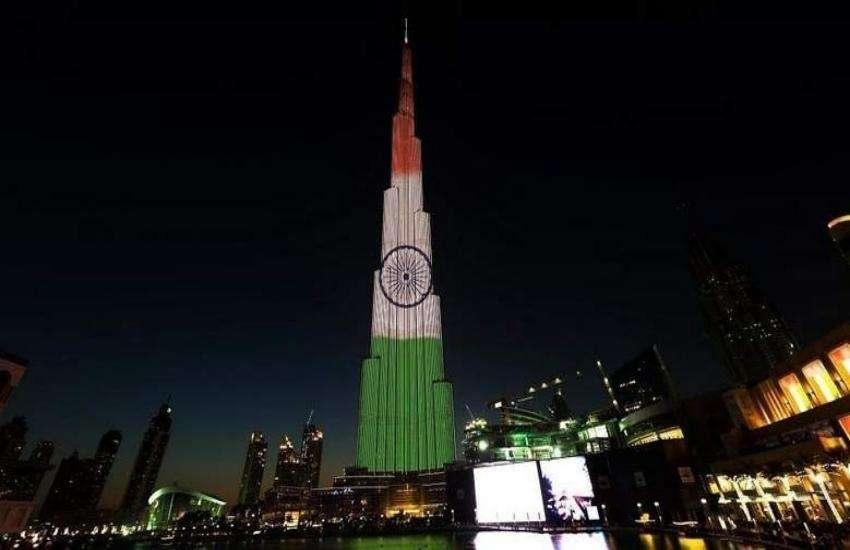दुबई में स्वतंत्रता दिवस मनाया गया