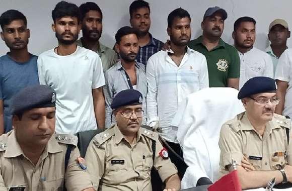 50 हजार के इनामी बदमाश शिवम सिंह समेत पांच दुर्दांत अपराधियों को यूपी पुलिस ने पकड़ा