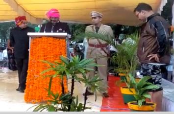 Independence Day 2019 : गुना में मंत्री महेंद्र सिंह सिसोदिया ने झंडा वंदन किया