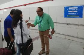 हबीबगंज रेलवे स्टेशन सबवे का शुभारंभ, देखें वीडियो