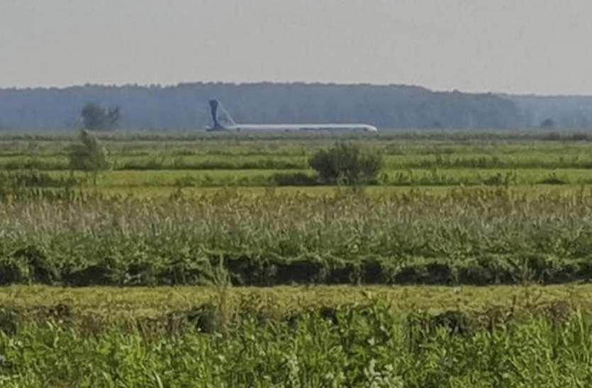 पक्षियों से टकराया रूसी विमान, 23 यात्री घायल