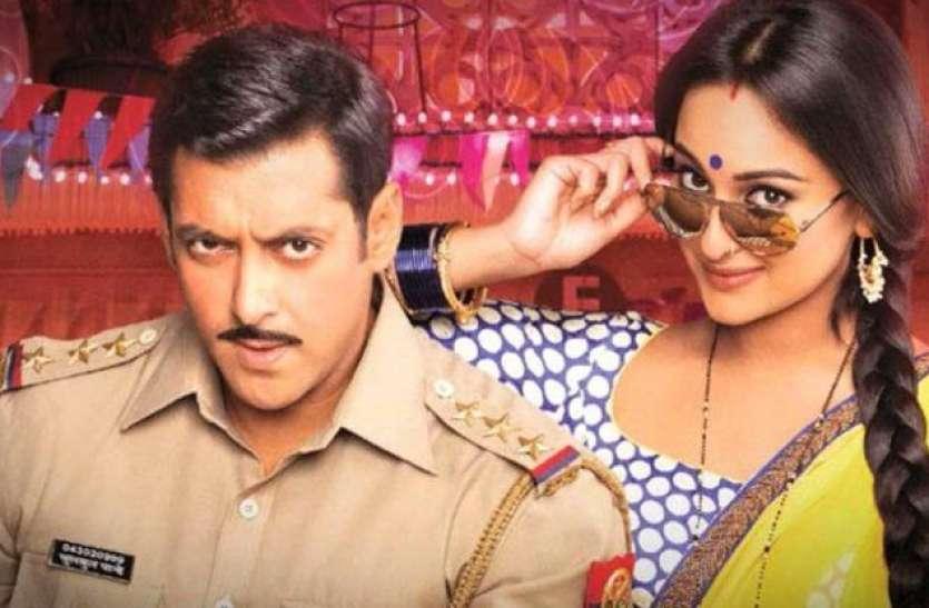 जयपुर में दबंग 3 फिल्म की शूटिंग,  अभिनेता सलमान और सोनाक्षी की एक झलक पाने को बेताब प्रशंसक