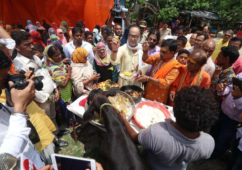 bukkal navab Celebration in Raksha Bandhan