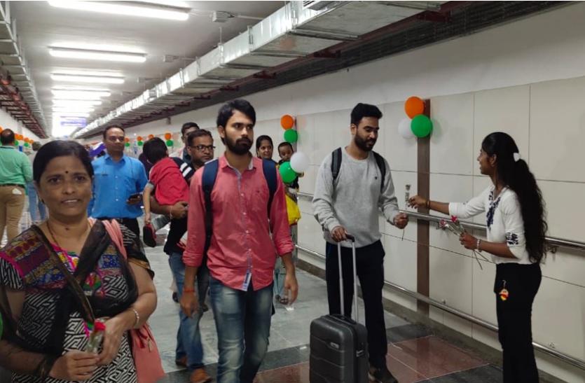 15 अगस्त पर हबीबगंज स्टेशन को सौगात, सब-वे बनने से यात्रियों को सीढ़ियां चढ़ने से मिली राहत, देखें वीडियो