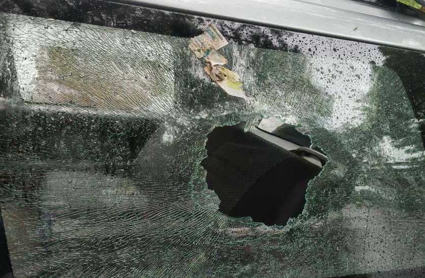 जोधपुर छात्रसंघ चुनाव : एबीवीपी के प्रत्याशी की गाडि़यों पर हमला
