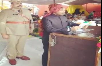 Independence day 2019  : कलेक्टर कौशलेन्द्र विक्रम सिंह ने किया ध्वजारोहण, देखें वीडियो