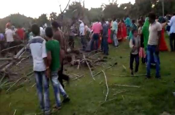 मध्यप्रदेश में बड़ा हादसा, सीधी में पेड़ गिरने से पांच बच्चों की मौत, कई घायल