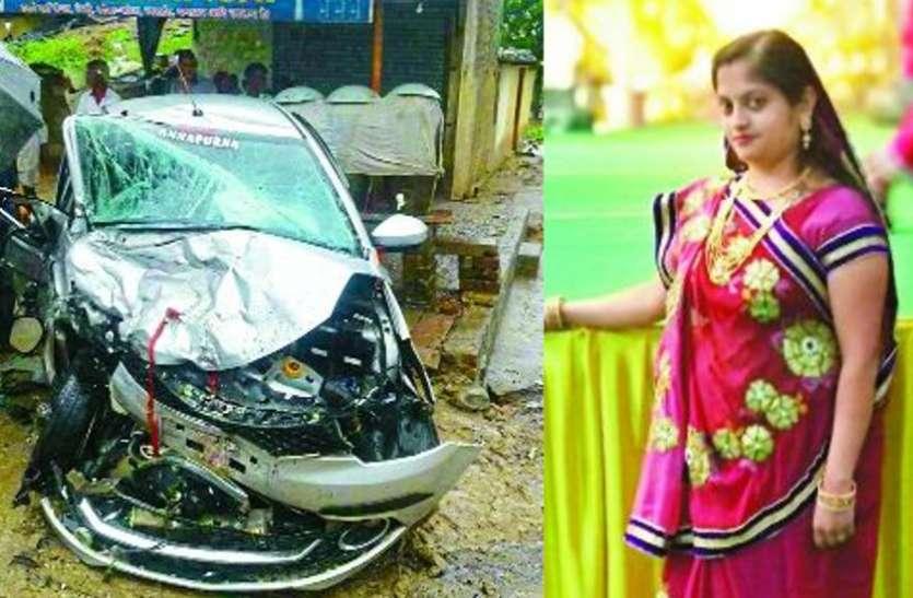 भाई को राखी बांधने के लिए आ रही बहनों की कार टकराई, एक की मौत, घर में छाया मातम