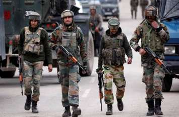 कश्मीर में सेना और वायुसेना हाई अलर्ट पर