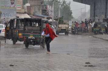 थार में जमकर बरसे मेघ, आज भारी बारिश की चेतावनी