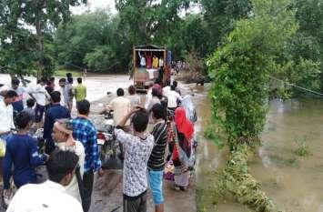 सिंध, पार्वती खतरे के निशान पर