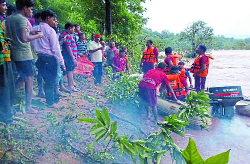 तीन दिनों से नदी के टापू पर फंसे थे 6 मछुआरे, SDRF की टीम ने घंटों मेहनत के बाद निकाला बाहर