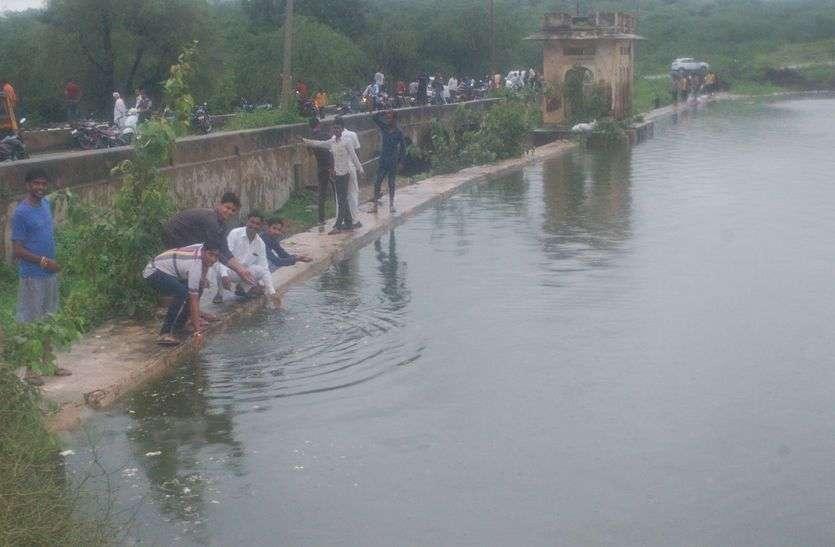 किशनगढ़ में एक घंटे में बरसा 50 एमएम पानी