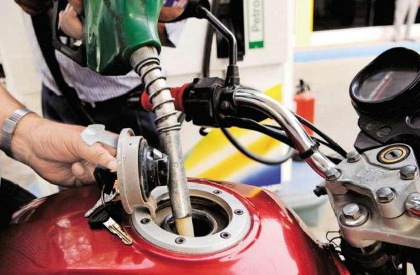 लगातार 6 दिनों से स्थिर है पेट्रोल का भाव, वैश्विक बाजार में कच्चे तेल की कीमतों में नरमी