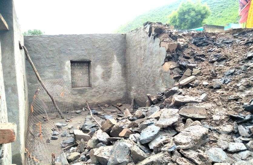 Heavy Rain In Alwar : Many House Collapse Due To Heavy Rain In Alwar