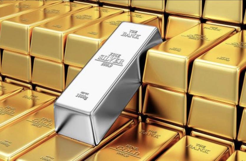 रिकाॅर्ड लेवल से करीब 8000 रुपए सस्ता हुआ सोना, चांदी के दाम में भारी गिरावट