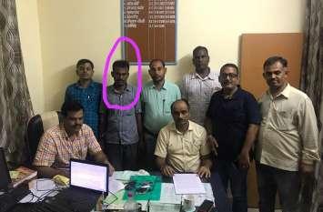 उपखण्ड अधिकारी का दलाल रिश्वत लेते रंगे हाथों गिरफ्तार, अतिक्रमण नहीं हटाने की एवज में ली रिश्वत