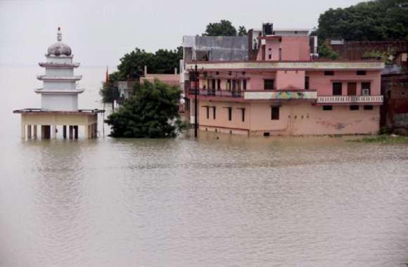 यूपी के इस शहर में भयंकर बाढ़ की आशंका, छोड़ा गया 4-30-000 क्यूसेक पानी हाई अलर्ट, घर छोड़ने का आदेश