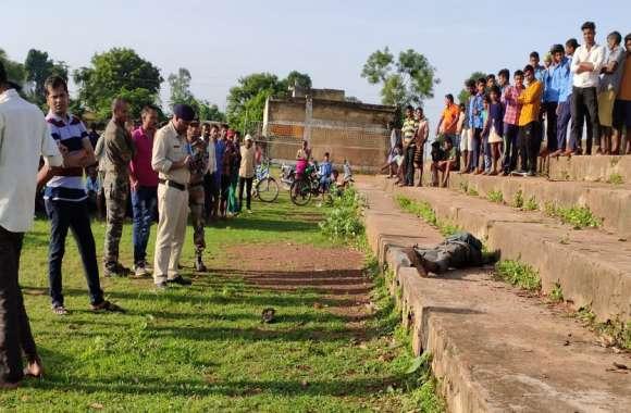 सरकारी स्कूल में युवक का मर्डर, खून से लथपथ लाश देखकर उड़े लोगों के होश