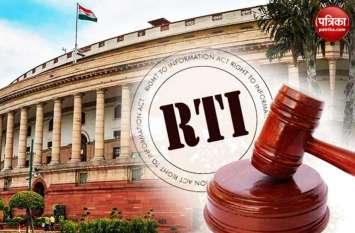 #संसदकेस्टार: क्या अब कमजोर पड़ जाएगी सूचना के अधिकार की धार?