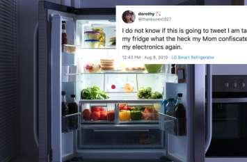 मां ने गुस्से में छीन लिया मोबाइल तो लड़की ने स्मार्ट रेफ्रिजरेटर से भेजा ट्विटर मैसेज