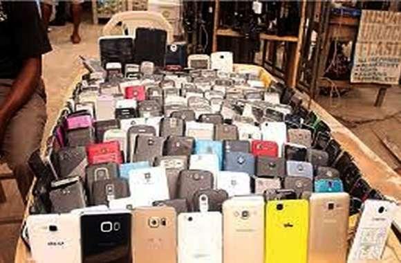 एक आईएमईआई नंबर पर चल रहे चोरी के 50 मोबाइल फोन