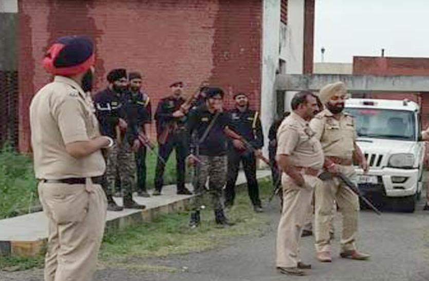 Red Alert In Punjab