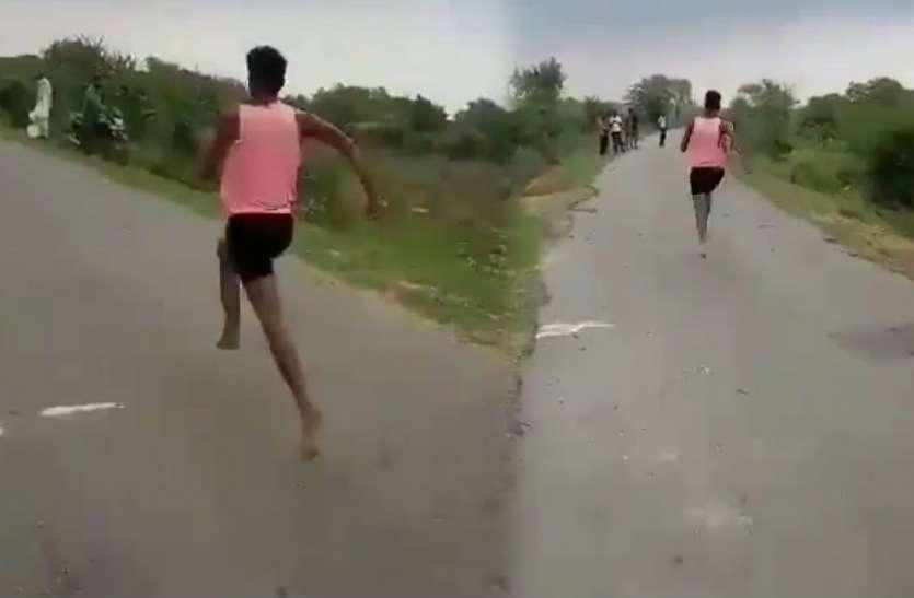 नंगे पैर 11 सेकेंड में पूरी की 100 मीटर की रेस, मोदी के मंत्री ने सोशल मीडिया में देखा वीडियो; कहा- इसे एथलेटिक अकादमी भेजूंगा