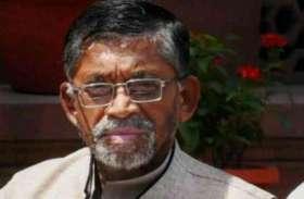 वित्त मंत्री के मोहल्ले में केंद्रीय मंत्री संतोष गंगवार को मिले थे पांच वोट