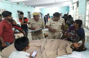 मरने वालों की संख्या तीन हुई, पांच घायल/ रामदेवरा जा रहे पैदल जातरू को कार ने कुचला