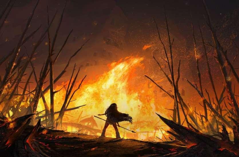 आग में जलते रहे गांव और ग्रामवासी, सरकार की अनदेखी से स्वाहा हुए करोडों