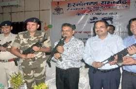 कानपुर की कार्बाइन के साथ होगी संसद भवन की सुरक्षा