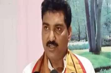 भाजपा विधायक ने कांग्रेस को बताया देशविरोधी पार्टी, कहा- अब कभी नहीं मिलेगी दुबारा सत्ता