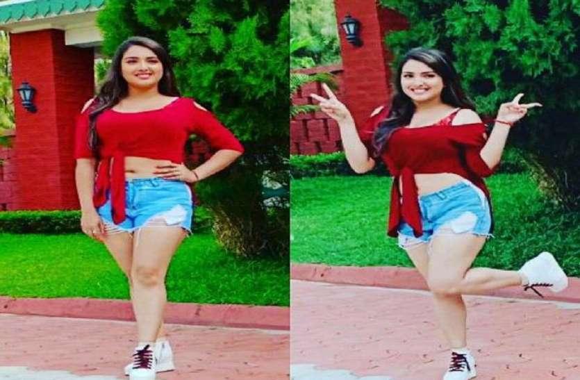Know About Bhojpuri Actress Amrapali Dubey Who She Will Marry A Boy - जानिए  भोजपुरी एक्ट्रेस आम्रपाली दुबे कैसे इंसान से करना चाहती है शादी | Patrika  News