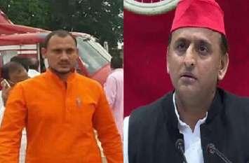 इस बाहुबली के बेटे को मंत्री बना अखिलेश यादव की टेंशन बढ़ाएगी बीजेपी