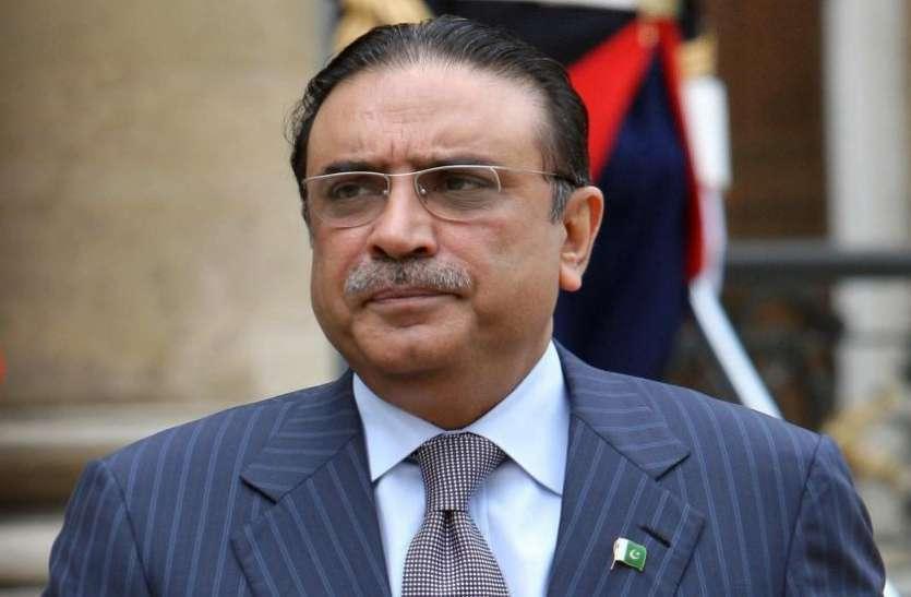 पाक के पूर्व राष्ट्रपति जरदारी को जेल में रखने का आदेश