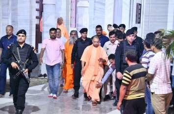सीएम योगी आदित्यनाथ ने रद किए सारे कार्यक्रम, गोरखपुर से राजधानी रवाना