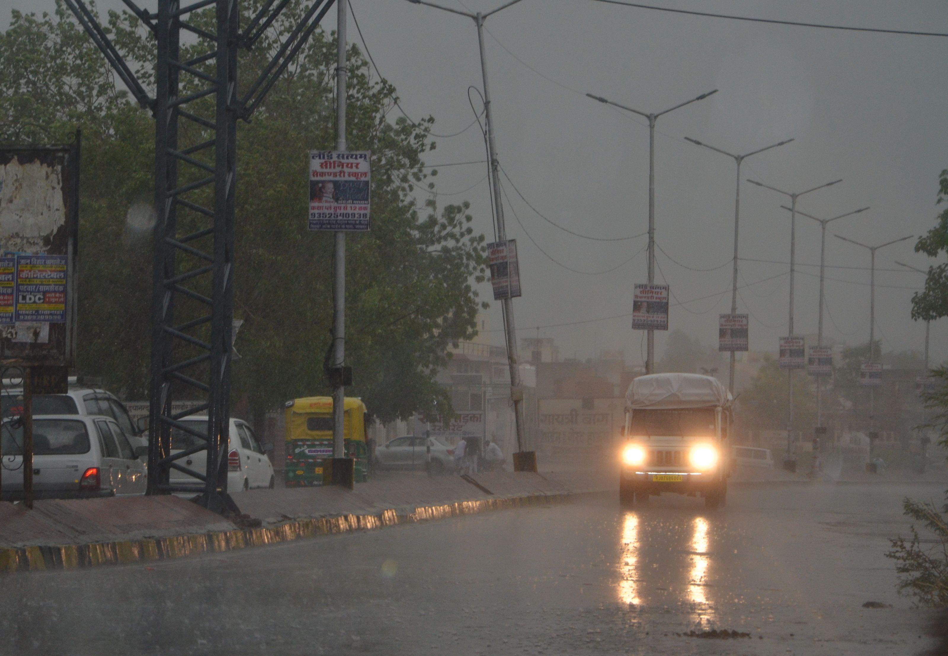 जोधपुर: मानसून की 153 प्रतिशत बारिश, चारों बांध सूखे