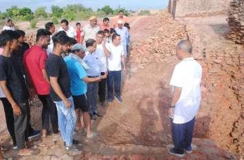 भटनेर दुर्ग के विकास को लेकर उठाएंगे कड़े कदम - दुर्ग में आयोजित कार्यक्रम में बोले जिला कलक्टर